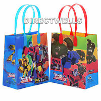 Transformers Authentic Licensed Reusable Small Party Favor Goodie Loot 12 Bags