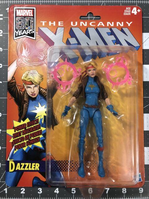 Marvel Legends Dazzler X-Men Retro Card 80 years of Marvel New Unopened