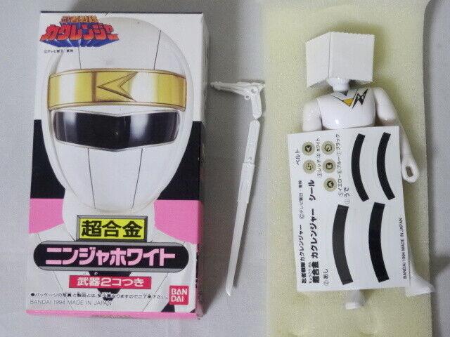Ninja White Ranger Chogokin Chogokin Chogokin Figure Ninja Sentai Kakuranger BANDAI Power Rangers 52ecf6