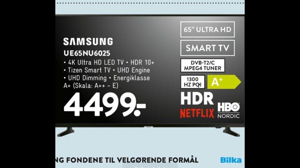 """Samsung, 65"""", widescreen"""