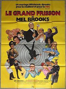 Affiche-LE-GRAND-FRISSON-High-anxiety-MEL-BROOKS-Madeline-Kahn-120x160cm