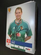 68633 Lotta Ravn Damen FC Basel original signierte Autogrammkarte