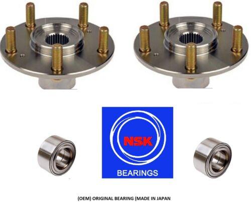 PAIR Front Wheel Hub /& NSK Bearing Kit fit HONDA CR-V 2007-2013 OEM