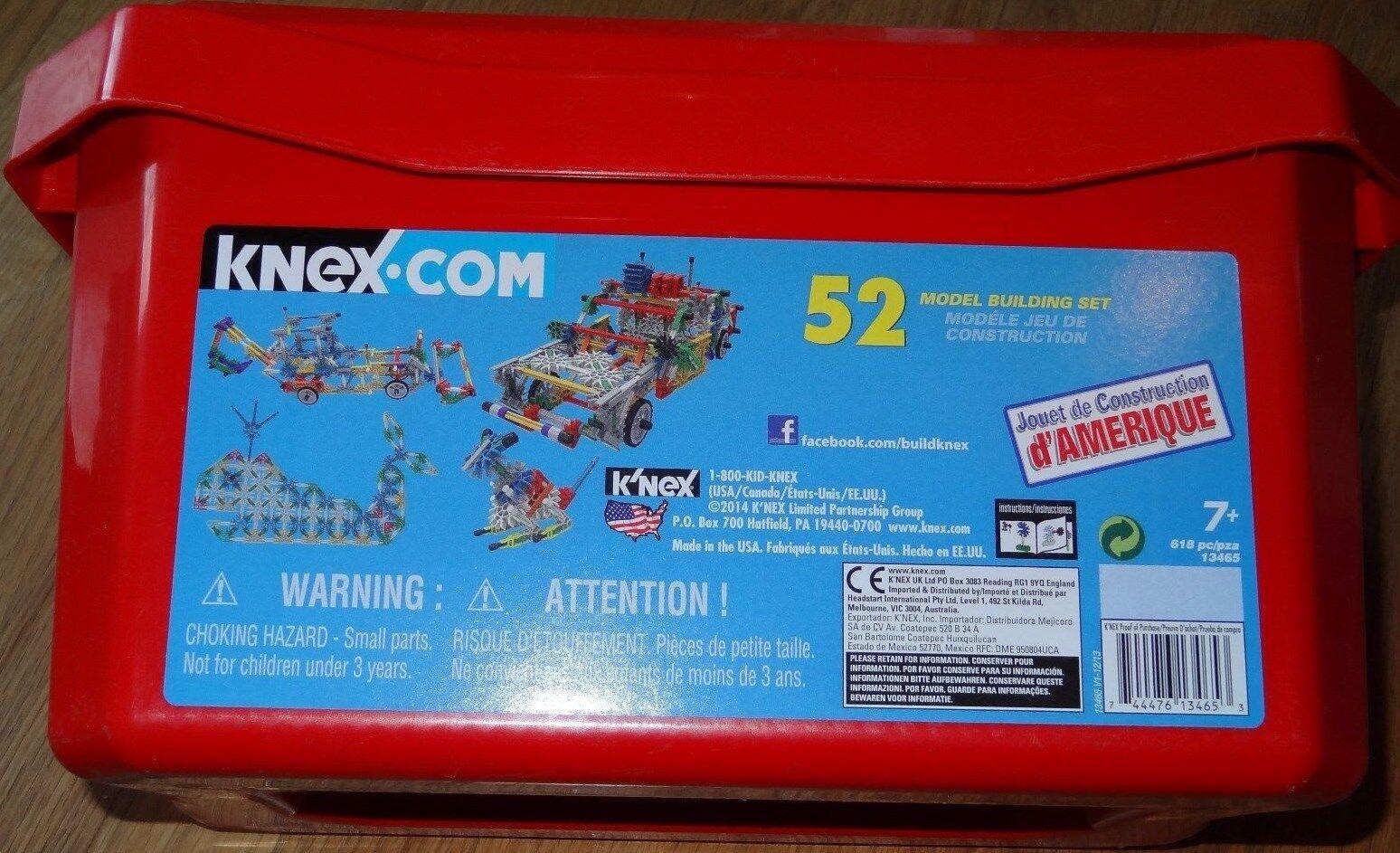 K'NEX 52 Model Building Set Construction Toy KNEX KNEX KNEX 13465 ede750