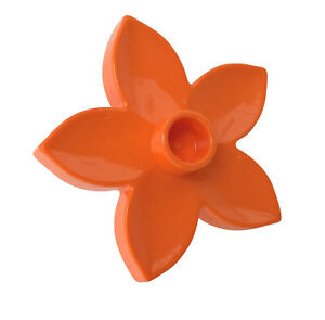 LEGO Duplo 2x Blume Blüte Pflanze hell blau 6510