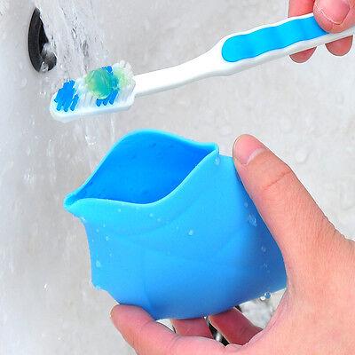 Ahorn-Portable Silikon Trinken Waschen Gurgeln Tasse Camping Reisen Taschen Neu