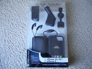 Brand New Wireless Gear 10 pc Accessory kit for iPhone 4 &3G, 3Gs
