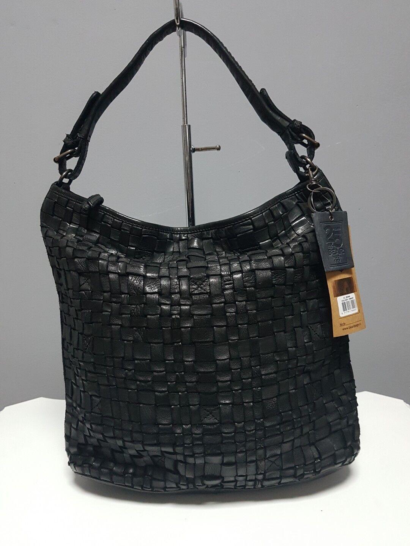 Bear Design •Tasche •Tess •Flechttasche • Schwarz • CL32444     | Elegante und robuste Verpackung  | Neues Design  | Elegantes und robustes Menü
