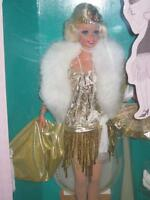 1993 1920's Flapper Barbie Dollthe Great Eras Collection 4063
