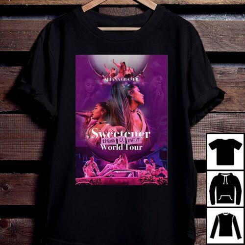 Ariana Grande Thank U Next Sweetener World Tour T Shirt Vintage Men Gift Tee