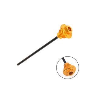 Gold-CNC-Oil-Dispstick-Stick-Plug-For-Suzuki-DRZ-400R-S-SM-2000-2015-Motorcycle