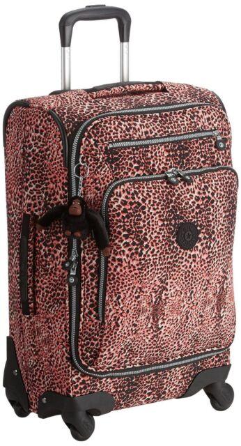 78f2de86fd5 Kipling Youri Spin 55 Spinner Trolley Fiesta Animal Cabin Luggage ...