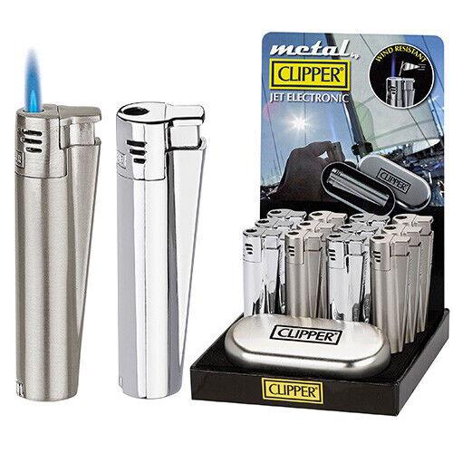 1x Briquet électronique Clipper Jet Flame