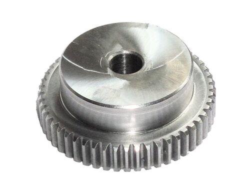 100 Zähne Modul 1 Bohrung Ø12 Zahnrad Stirnrad aus Stahl C45 gefräst