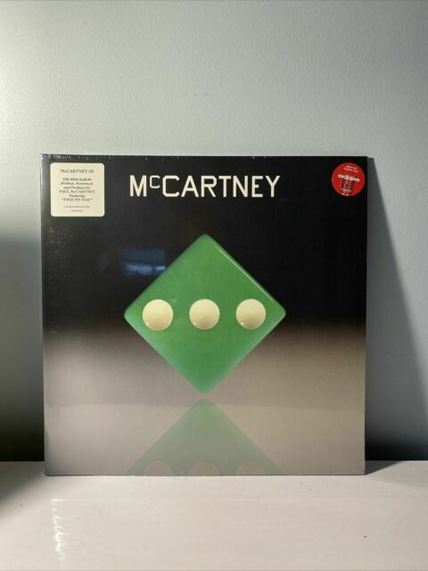 Paul McCartney III 3 Target Exclusive LP Vinyl Green Limited Edition - SHIPS NOW