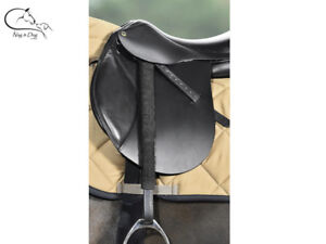 Busse-Stirrup-Leather-Covers-Protectors-Clean-Anti-Rub-Abrasion-FREE-DELIVERY