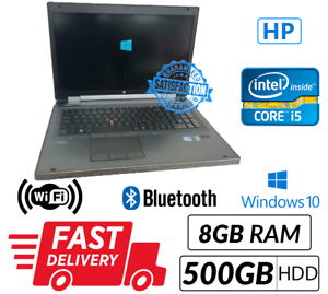 HP-EliteBook-Mobile-Workstation-8760w-Core-i5-2540M-2-60GHz-8GB-500GB-Win-10-Pro