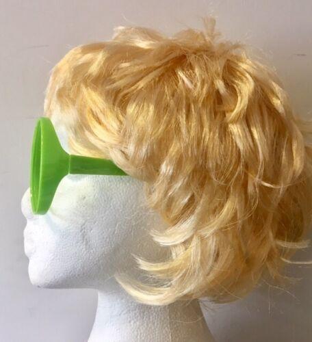 Elton John Style Blonde Wig /& Oversized Glasses Short Mens 70/'s Fancy Dress