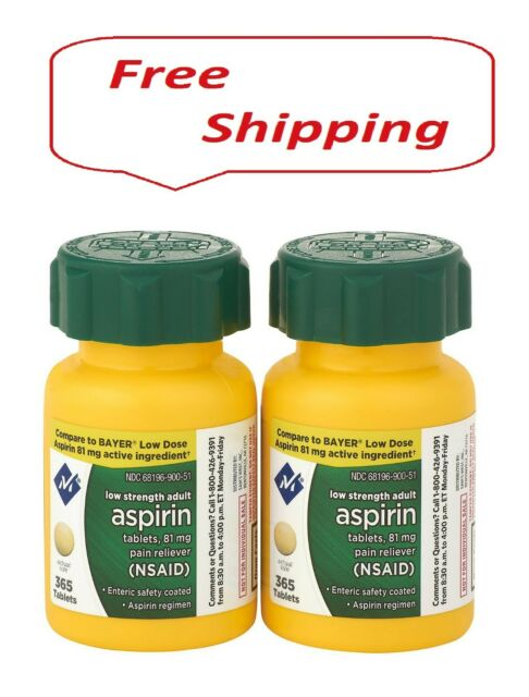 Member's Mark 81 mg Low Strength Aspirin (730 ct.)