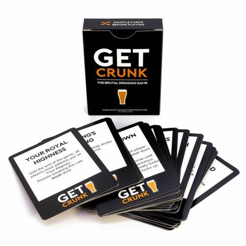 Stag /& Hen The Brutal Card Drinking Game for Students Get Crunk Pre Drinks