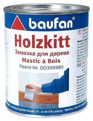 Heimwerker Baustoffe & Holz 12,50€/kg Pufas Baufan Holzkitt Kitt Holz-kitt 1kg