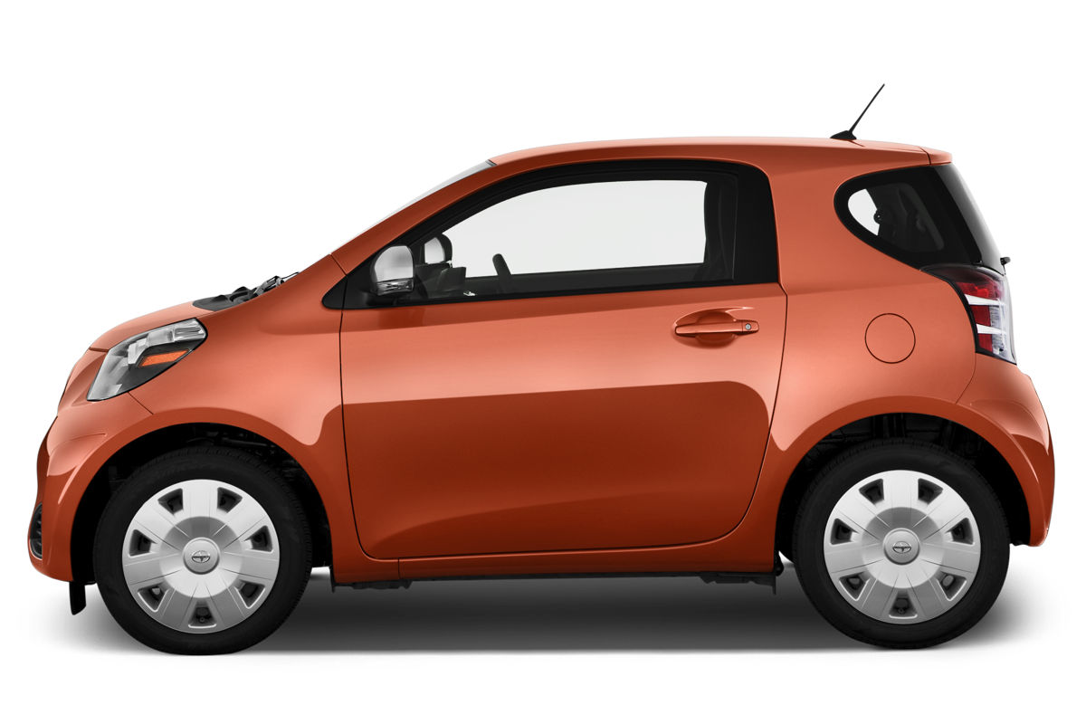 Scion iQ side view