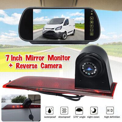 "7/"" Monitor Ford Transit Custom 2016 IR LED Brake Light Parking Reverse Camera"