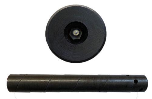SCHMIERBOLZEN mit 3 Splintlöcher 40x280//260//240mm aus 42CrMo4v