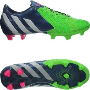 abd584497c0 Adidas Predator Instinct FG men s soccer cleats blue white green FG ...
