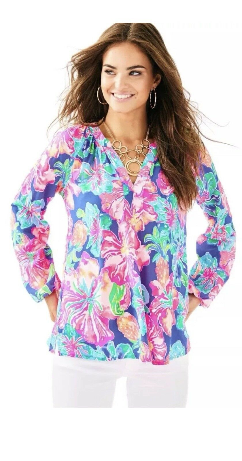 Lilly Pulitzer MARTINIQUE Top XS NWT RETAIL  128