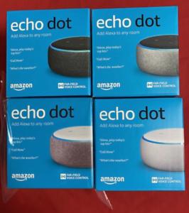 BRAND-NEW-Amazon-Echo-Dot-3rd-Generation-Smart-Speaker-with-Alexa-ship-fast