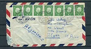 Luftpostbrief-BRD-Heuss-10-Pfg-MeF-Muenchen-Alger-Algerien-b3339
