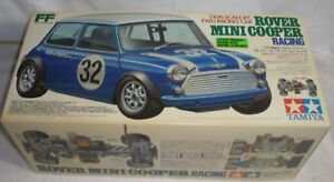 Image Is Loading Tamiya Rover Mini Cooper Vintage Rc New In