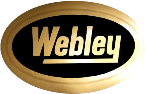 Adesivo decalcomania in vinile Webley per fucile//pistola//pistola al sicuro//gabinetto//Auto//we1