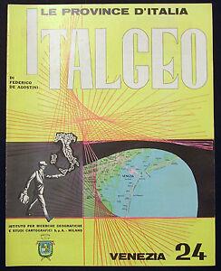 VENEZIA 24 - ITALGEO - LE PROVINCE D'ITALIA - 1961 - Italia - VENEZIA 24 - ITALGEO - LE PROVINCE D'ITALIA - 1961 - Italia