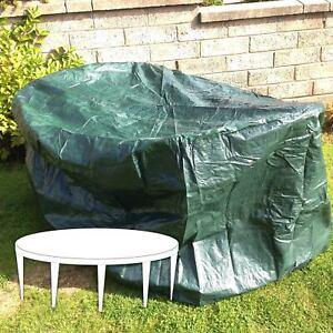 Yuzet Premium Large Round Patio Cover for Circular Garden table 84cm ...
