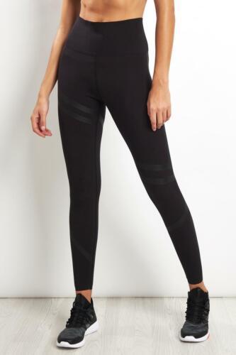 Reebok Linear High Waist Leggings Womens Size Smal