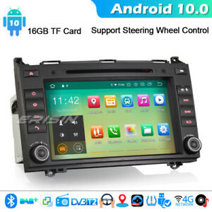 Autoradio-Android-10-0-Mercedes-A-B-Class-Vito-Sprinter-Viano-Vito-VW-Crafter-CD