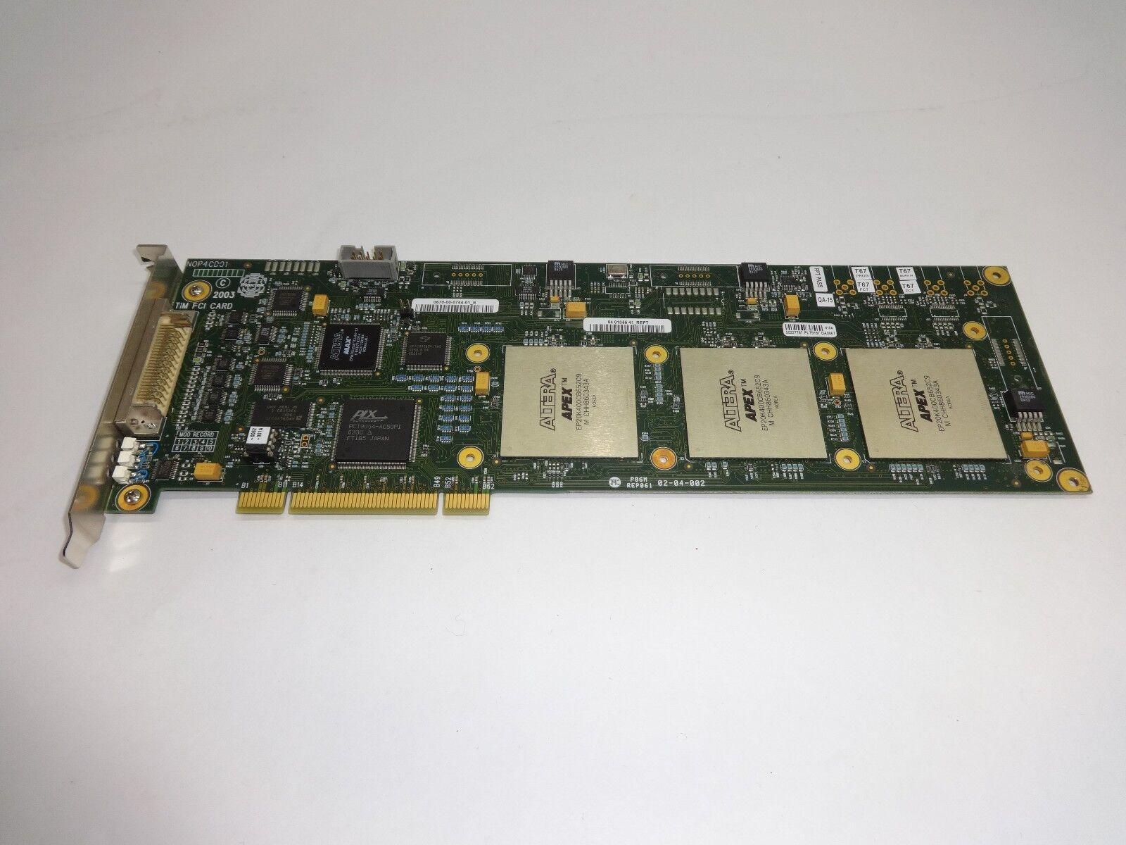 Plextek PCI SCSI Adapter N0P4CD01 TIM PCI Card
