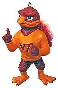 Buy Virginia Tech Hokies Vt Ncaa Resin Mascot Ornament Online Ebay