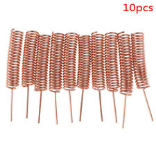 New Listing10pcslot 433mhz 3dbi Helical Copper Antenna For Arduino Remote Controldkw