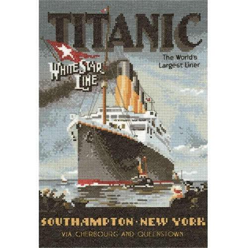 Heritage Crafts Classics Titanic Kit Punto De Cruz