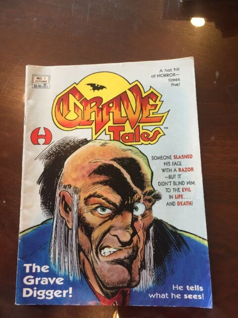 Grave Tales Magazine, N0.1 Oct 1991 Hamilton Comics