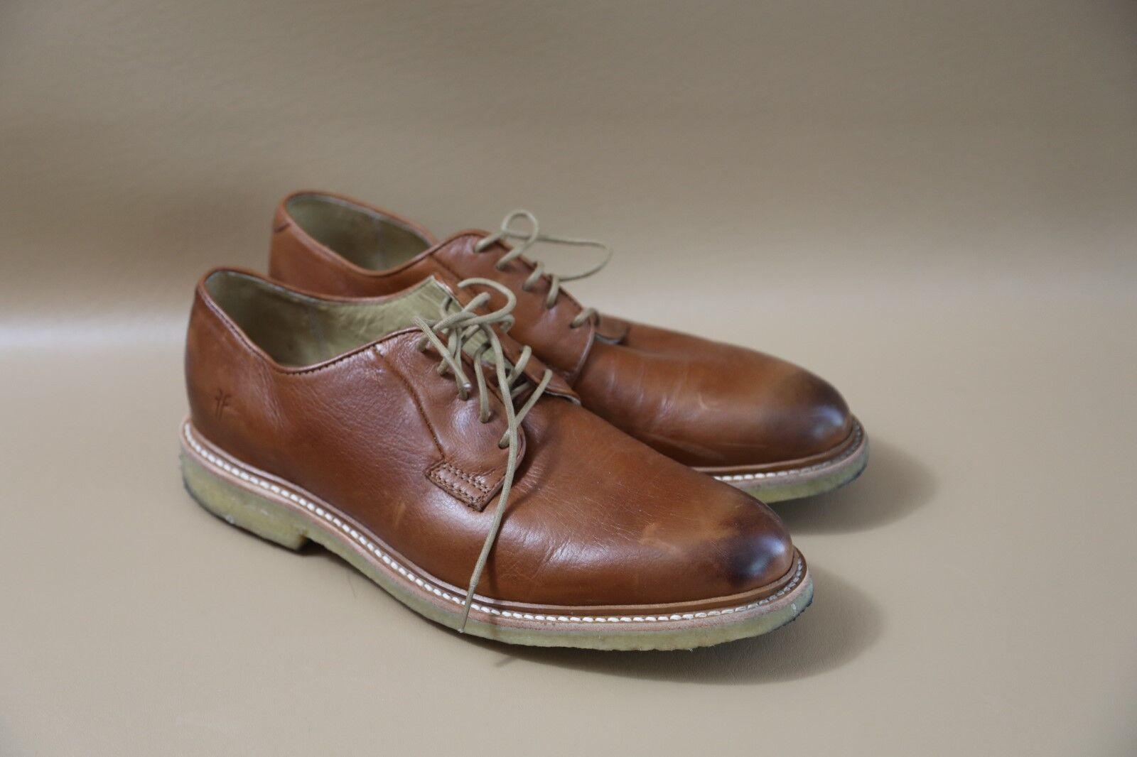 FRYE Para Hombre De Cuero Oxford Zapatos D Hecho En México