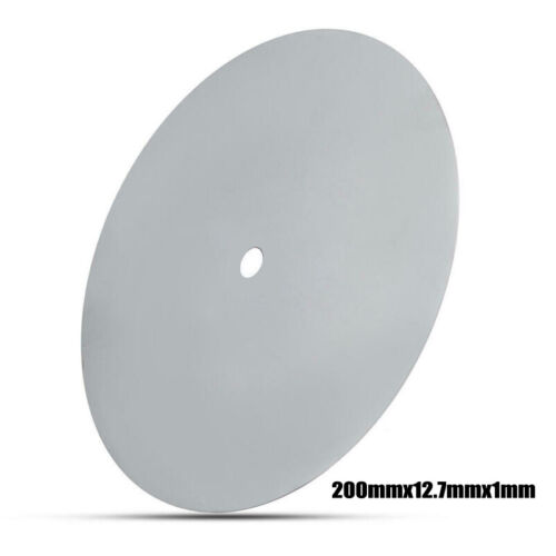 2000 Grit Diamond Coated Flat Lap Wheel Lapidary Grinding Polishing Disc 200mm