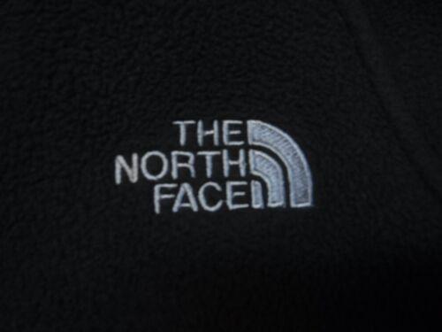 S Authentic integrale pile zip con Face in completa Giacca femminile nera North zwqvvU