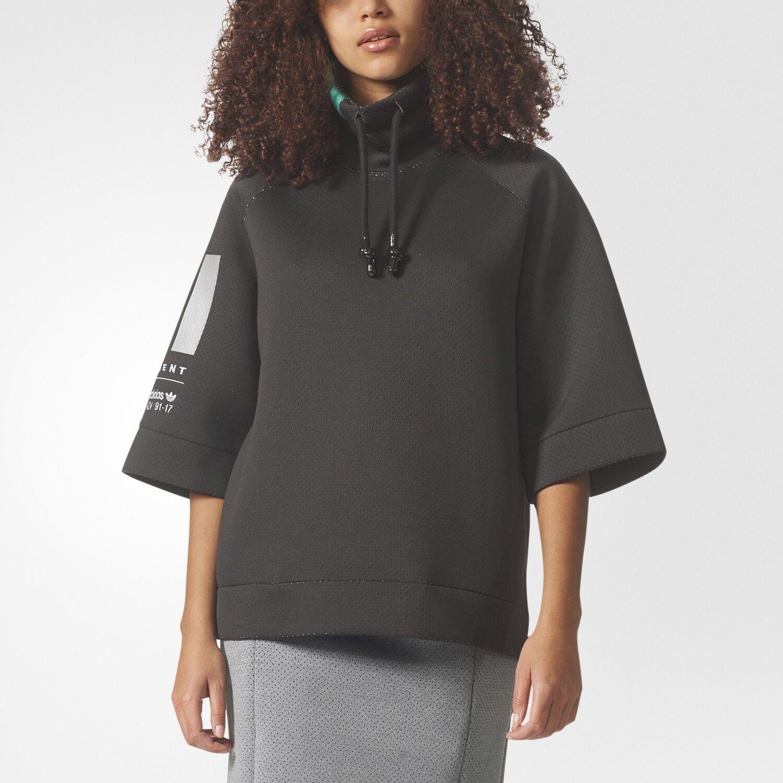 Adidas Women's Originals EQT Sweater Sweatshirt  Save 40% 40% 40%    Large, XL 936300
