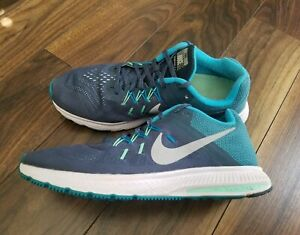 Details about Nike Zoom Winflo 2 Flash Running Trainers Shoes Men's Size 10.5 Blue