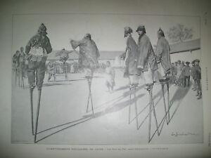 CHINE-FETES-DU-TET-ECHASSIER-JEU-DES-DRAGONS-SOUS-MARIN-ZeDe-L-039-ILLUSTRATION-1901