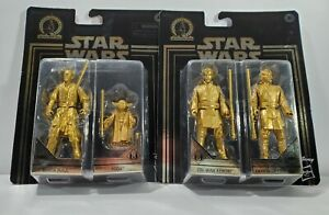 Star Wars Darth Maul Yoda ObiWan KENOBI Skywalker Gold Commemorative EDITI